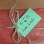 pacchetto rosso, biglietto verde